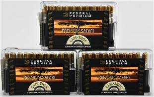 60 Rounds Of Federal .375 H&H Magnum Ammo