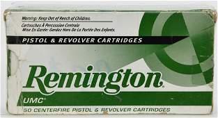 50 Rounds Of Remington .45 Auto Ammunition