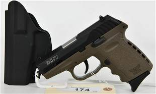 SCCY CPX-2 Semi Auto Pistol 9MM