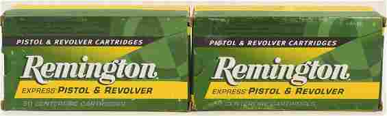 100 Rounds Of Remington Express 45 Colt Ammo