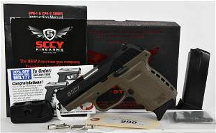 Brand New SCCY CPX-2 Semi Auto Pistol 9mm