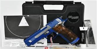 NEW Sig P226 S X-Five Blue Moon Comp Gun 9mm