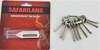 Hand Cuff Key Lot-10 Peerless Keys & Safariland