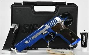 Sig P226 S X-SIX Blue Moon Comp Gun 9mm