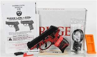 Brand New Ruger LC9s Red Digital Camo 9mm