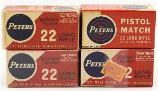 200 Rounds Of Collector Peters .22 LR Ammunition