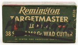 50 Rounds Of Remington .38 Auto Ammunition