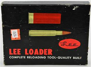 Lee Loader for Pistol Cartridge and Straight Sided