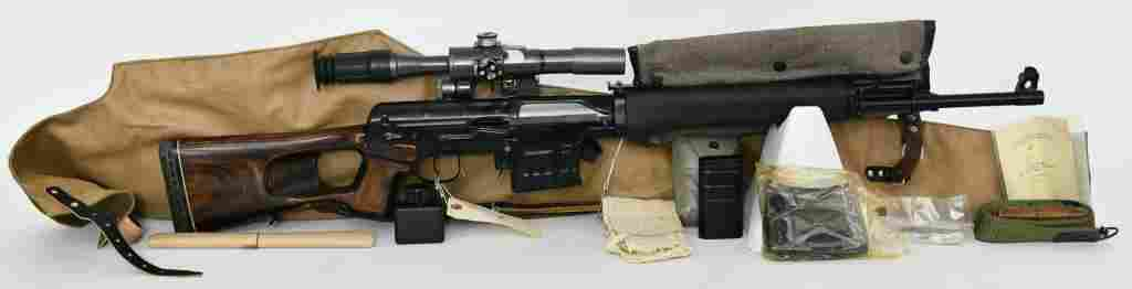 Russian SVD 'Tiger' Semi-Automatic Sniper Rifle