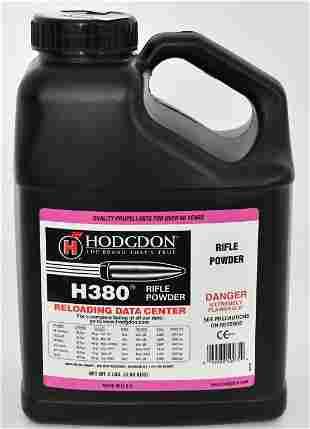 8 LB Jug of Hodgdon H380 Spherical Rifle Powder