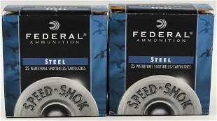 50 rds 20 Ga Federal Steel ammo