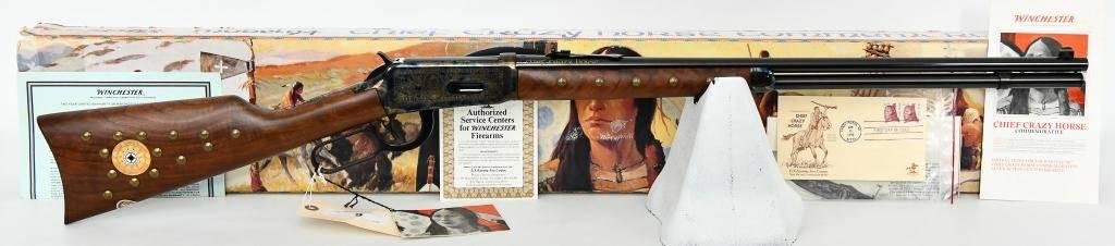 Winchester 1894 Chief Crazy Horse .38-55 Commem.