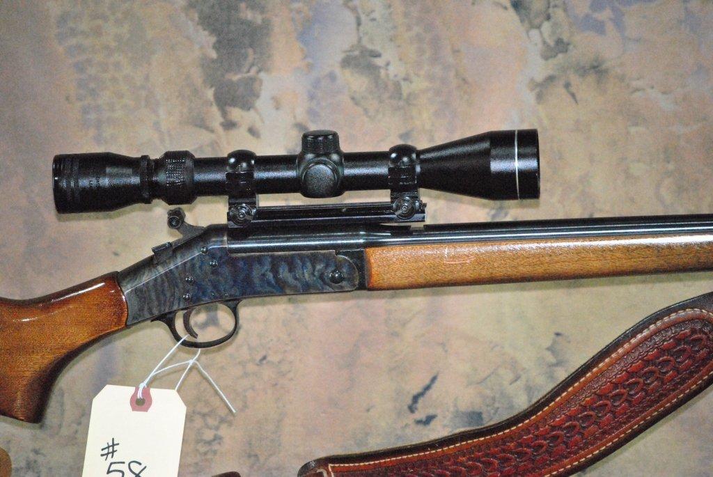 H&R model 157 30-30 win Rifle w/Tasco Scope - 10