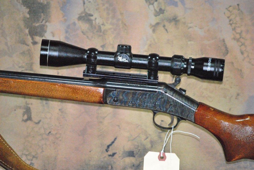 H&R model 157 30-30 win Rifle w/Tasco Scope - 3