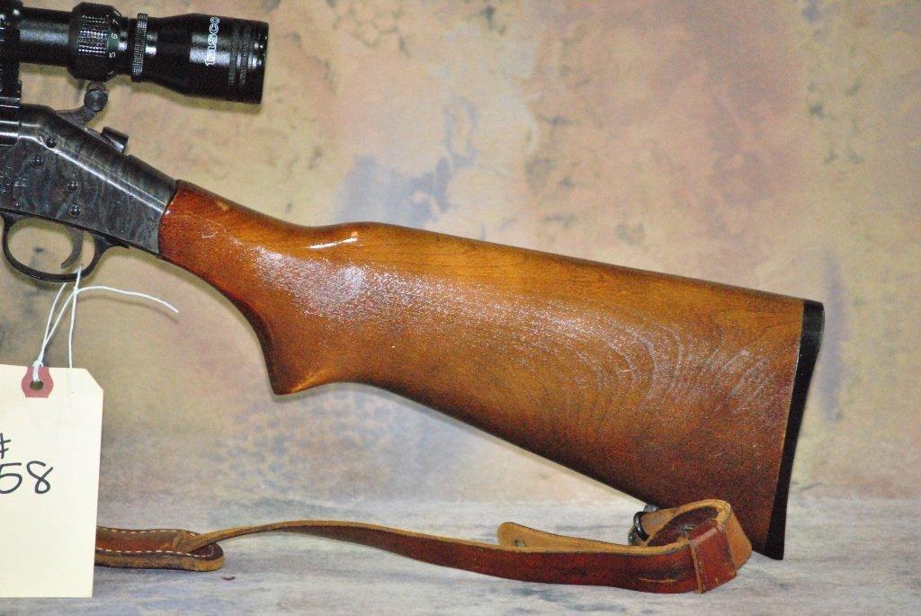 H&R model 157 30-30 win Rifle w/Tasco Scope - 4