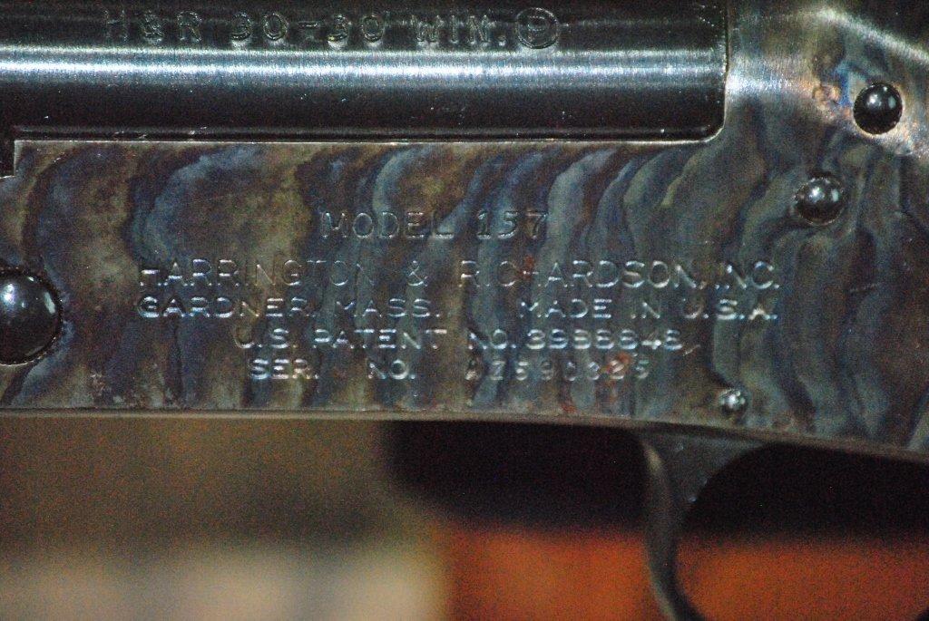 H&R model 157 30-30 win Rifle w/Tasco Scope - 7