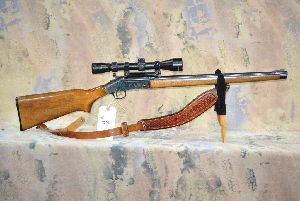 H&R model 157 30-30 win Rifle w/Tasco Scope - 8