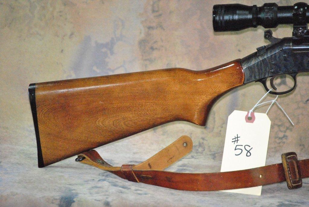 H&R model 157 30-30 win Rifle w/Tasco Scope - 9
