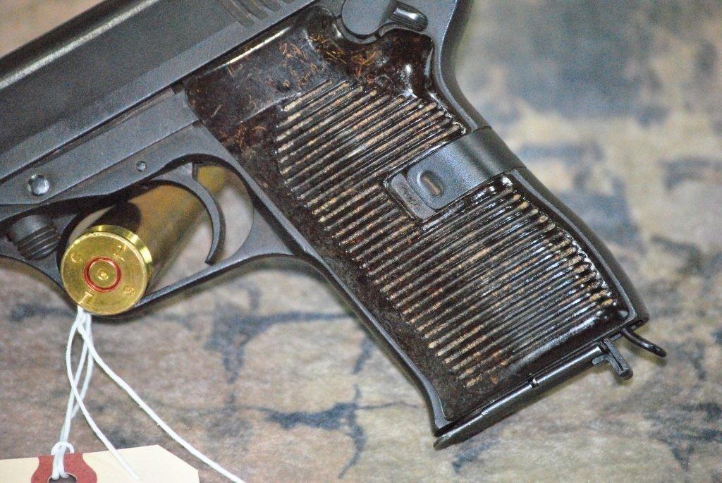 CZ 52 1953 Semi Automatic Pistol 7.62x25 w/holster - 10