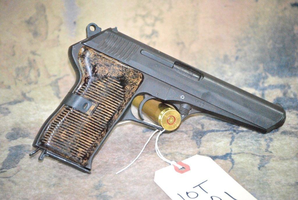 CZ 52 1953 Semi Automatic Pistol 7.62x25 w/holster - 2