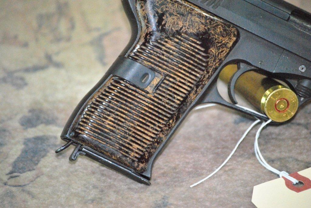 CZ 52 1953 Semi Automatic Pistol 7.62x25 w/holster - 3