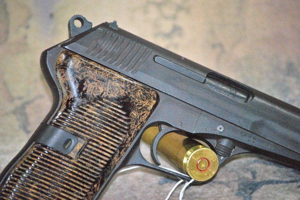 CZ 52 1953 Semi Automatic Pistol 7.62x25 w/holster - 4