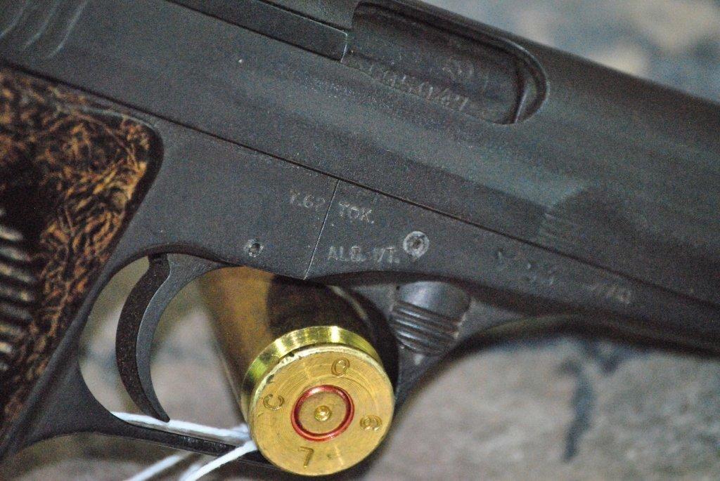 CZ 52 1953 Semi Automatic Pistol 7.62x25 w/holster - 6