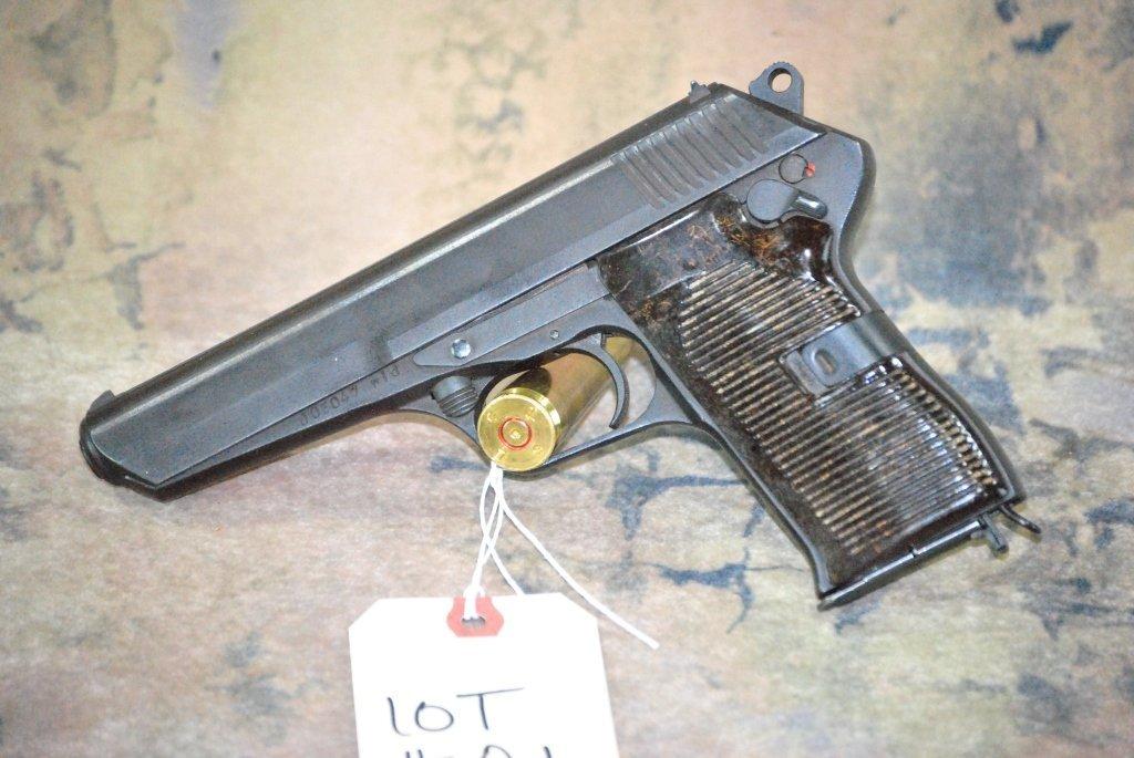 CZ 52 1953 Semi Automatic Pistol 7.62x25 w/holster - 7