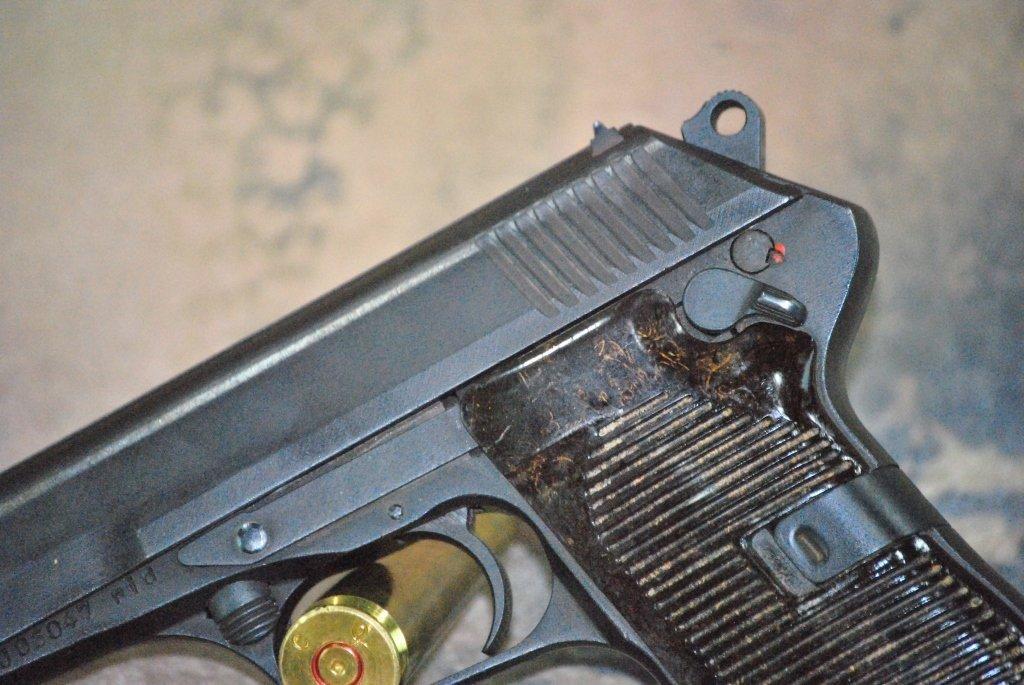 CZ 52 1953 Semi Automatic Pistol 7.62x25 w/holster - 9