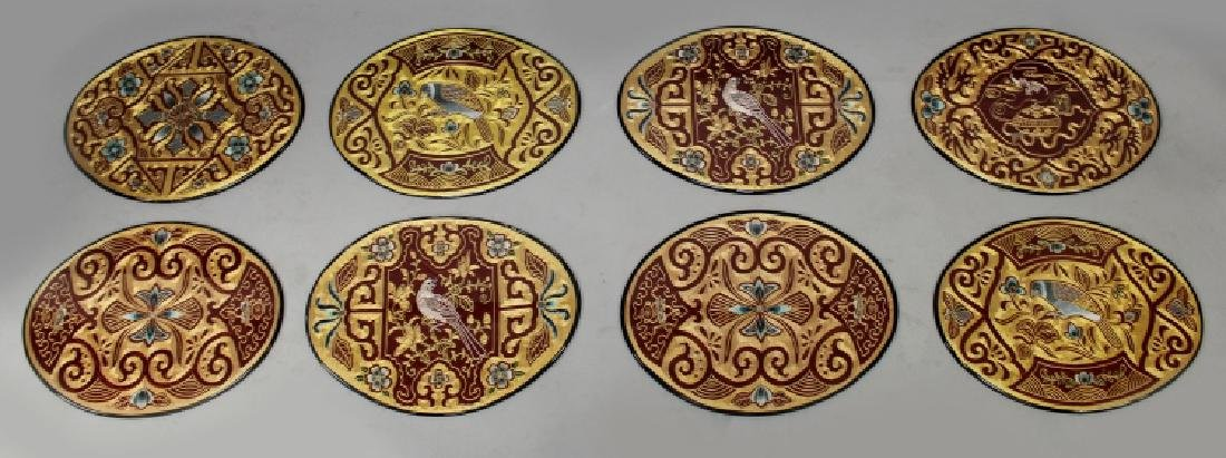 A SET OF EIGHT GOOD QUALITY EARLY/MID 20TH CENTURY