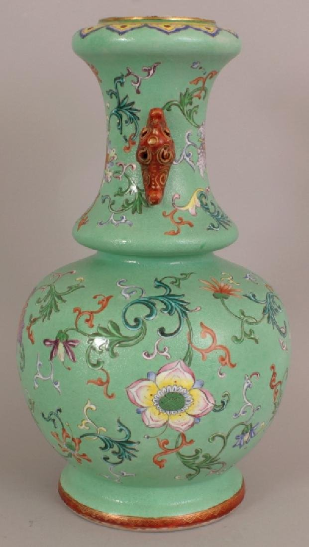A FINE QUALITY EARLY 19TH CENTURY CHINESE LIME GREEN - 4