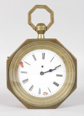 A FRENCH SEDAN CLOCK.