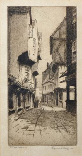 "Reginald Green (19th - 20th Century) British. ""York,"