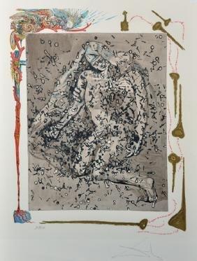 Salvador Dali (1904-1989) Spanish. Christ on the Cross,