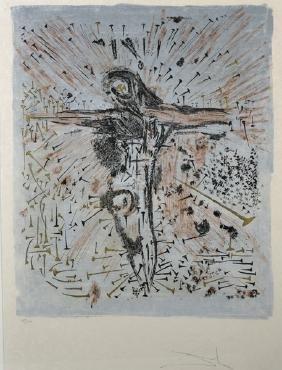 Salvador Dali (1904-1989) Spanish. The Fallen Christ,