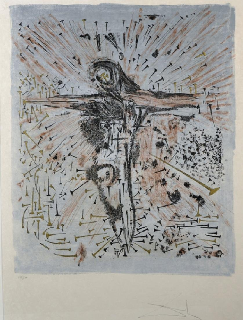 Salvador Dali (1904-1989) Spanish. The Fallen Christ,