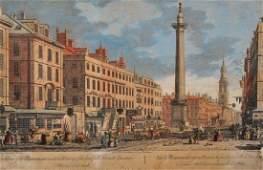 "George Bickham (c.1684-1758) British. ""A View of the"