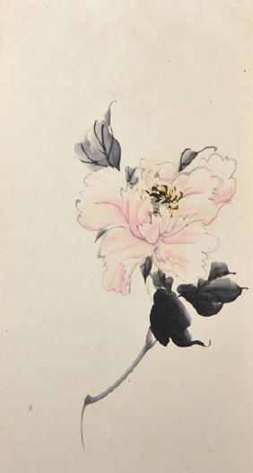 20th Century Chinese School. Still Life of Flowers,