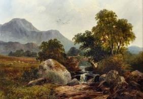 "J... F... Dunbar (19th - 20th Century) British. ""In"