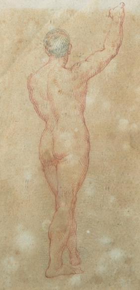 Edward Francis Burney (1760-1848) British. Study of a