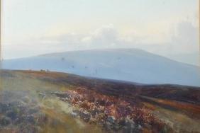 Frederick John Widgery (1861-1942) British. A Moorland
