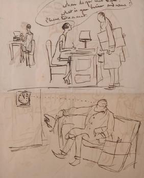 Edward Alfred Cucuel (1875-1954) American. 'The Waiting