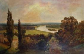 James Isiah Lewis (1860-1934) British. A River
