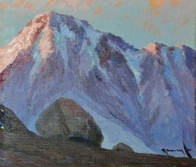 Benito Ramos Catalan (1888-1961) Chilean. 'Landscape of