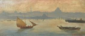 R... Housman (20th Century) British. 'Istanbul', with