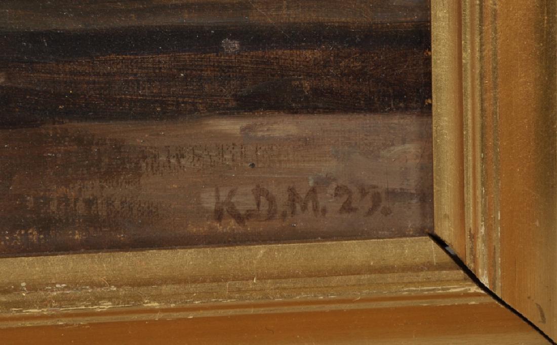 K... D... Mygind (1877-1950) Danish. 'The Artist's - 3
