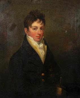 Early 19th Century English School. Portrait of a Man,