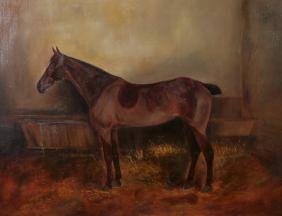 Manner of Harry Hall (1814-1882) British. A Horse in a