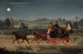 "James Pollard (1792-1867) British. ""Bath, Bristol &"