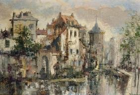 Theodorus Van Oorschot (1910-1989) Dutch. A Continental